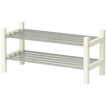 TJUSIG white, Shoe rack, 79 cm IKEA