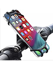 Porta Cellulare da Bici, Portacellulare per Bicicletta Attacco Manubrio Universale Rotazione 360°,Supporto Porta Telefono Bici per Tutti Gli Smartphone Xiaomi, Samsung, Huawei, iPhone, Oppo