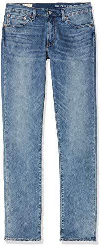 Levi's 511 Slim Fit – Jeans pour hommes à coupe ajustée avec stretch, Bleu (Baltic Adapt), 32W/ 36L