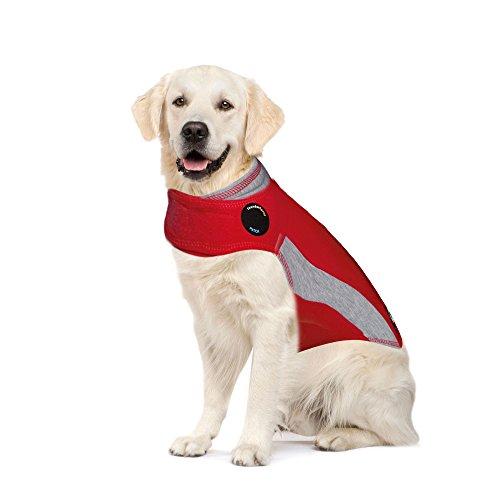 Thundershirt Polo Dog Anxiety Jacket (X-Large, Red)