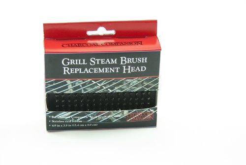 Charcoal Companion Grill Dampfbürste, schwarz, 3.18 x 12.7 x 12.7 cm, CC4094