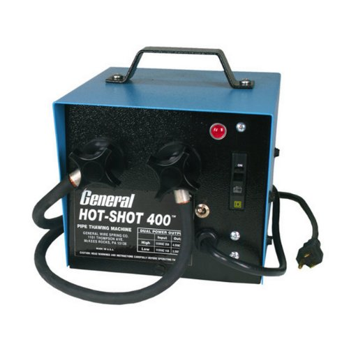 General Pipe Cleaners HS-400 400-Amp HotShot Pipe Thawer