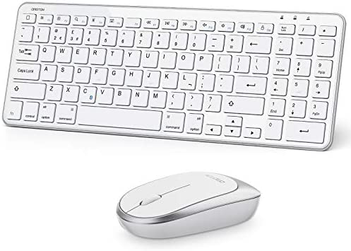 OMOTON iPad Keyboard and Mouse Bluetooth Keyboard and Mouse iPadOS 13 and Above for iPad 8th product image