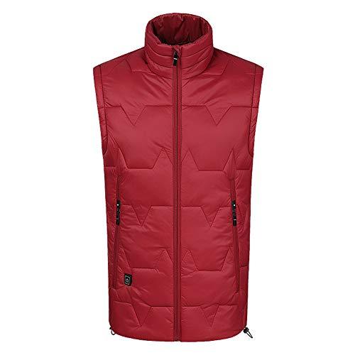 Gilet termico da esterno, giacca riscaldante, controllo della temperatura, bella giacca ricaricabile-M