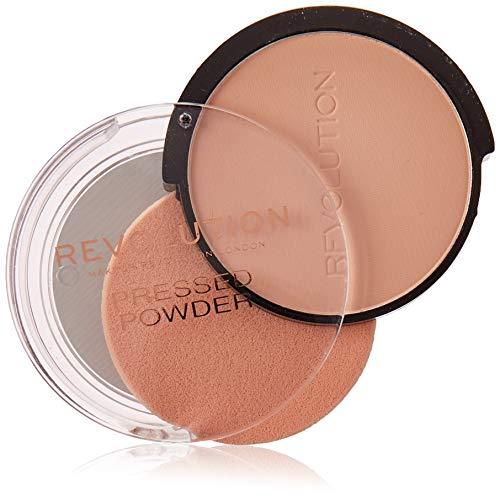 Makeup Revolution Pressed Powder Porselein Soft Pink, 8 g