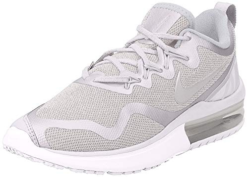 Nike Women's Air Max Fury White/Vast Grey - Pure Platinum Low Top Cross Trainer Shoe 9.5M