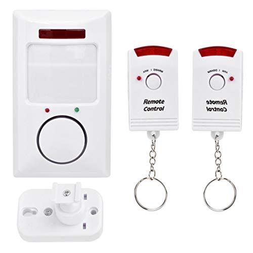 Detector de Seguridad de Alarma ABS, Sistema de Alarma inalámbrico fácil de Instalar, Premium para el Patio de la Oficina de la Tienda en el hogar