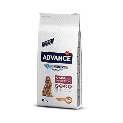 ADVANCE Senior Medium - Pienso Para Perros Senior De Razas Medianas Con Pollo - 12 kg