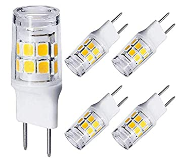 G8 LED Bulb Dimmable WB25X10019 WB36X10213 3W T4 G8 Bulb Equivalent to G8 Halogen Bulb 20W-25W Mini G8 Light Bulb Bi-Pin G8 Base AC 110V/120V/130V  Daylight 6000K