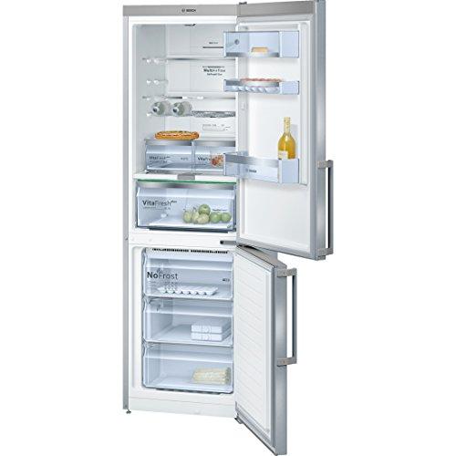 Bosch série 6 kgn36ai35 libre installation 237L 87L a + + Argent, Acier inoxydable – Réfrigérateur avec congélateur