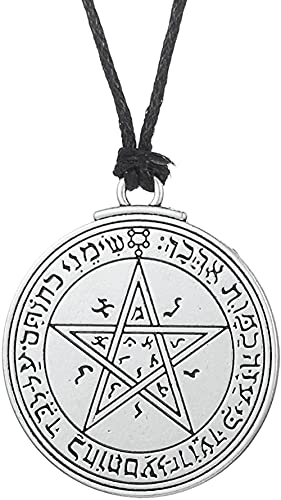 NC122 Pendant Necklace Jewelry Symbol Amulet Venus Solomon Five-Pointed Star Witchcraft Five-Pointed Star Love Necklace