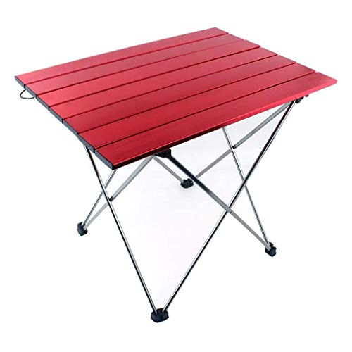 UNU_YAN Picnic Tables for Outdoors Furniture Lightweight Outdoor Camp Portable Folding Table with Carrying Bag