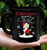 N\A Tazza Snoo Charlie Brown peans, Christmas Begins with Christ Mug, Christmas