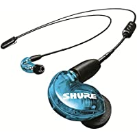 Shure SE215 Sound Isolating Wireless Earphones with Bluetooth 5.0 (Special Edition Blue)