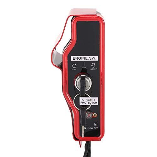 Interruptor de encendido eléctrico y caja de control de panel de 2 llaves para Honda GX340 GX390 11HP 13HP Engine