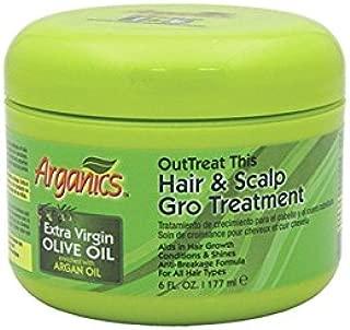 Arganics Outtreat This Hair and Scalp Gro Treatment, 6 Ounce