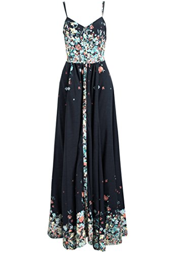 khujo dames jurk VELONA met bloemenpatroon