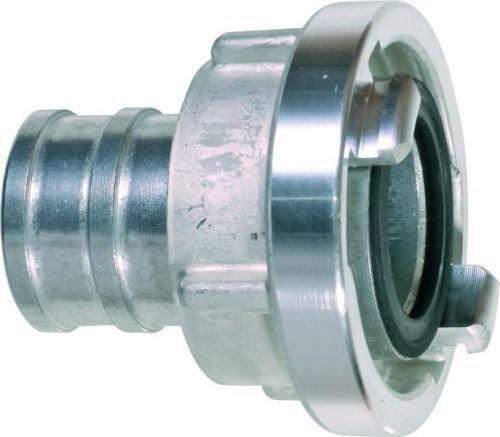 GEKA D102513 Saugkupplung Storz Größe 25-D KA 31 mm AL für 1/2 Zoll, Silber/schwarz, 18 x 8 x 13 cm