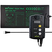 BN-Link Durable Seedling Heat Mat Pad with Digital Thermostat