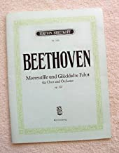 Calm Sea and Prosperous Voyage (Meeresstille Und Bluckliche Fahrt). Cantata for Chorus & Orchestra, Opus 112. Vocal Piano Score (Edition Breitkopf, No. 1416)