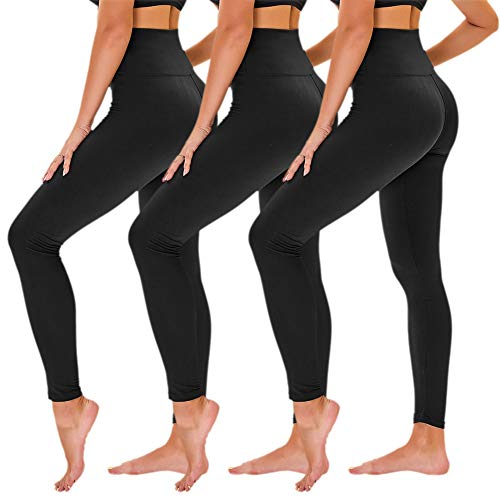 TNNZEET 3 Pack High Waisted Legging…