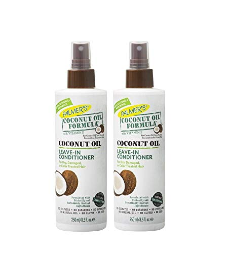 Palmer's Coconut Oil Formula Strengthening Leave-in Conditioner 250ml (PACK OF 2)