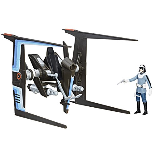 Hasbro Star Wars Force Canto Bight Police Speeder and Canto Bight Police Figure vehículo de Juguete - Vehículos de Juguete, Vehicle Set, De plástico, Star Wars, Interior, 4 año(s)