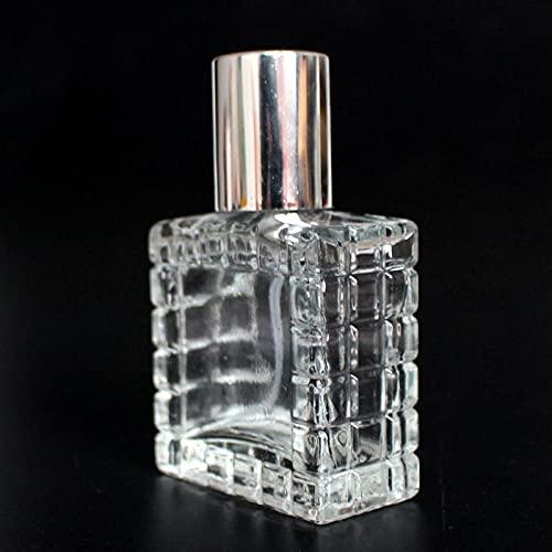 Botella De Perfume Vacía Perfume Recargable Frascos Para Perfume 2 Unids / Lote 30 Ml Botella De Perfume De Perfume Recargable Botella De Espray De Cristal Transparente Cosmética Vacía Perfume De Perf