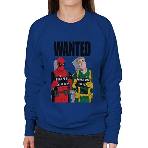 Marvel Deadpool Bob Hydra Wanted Women's Sweatshirt
