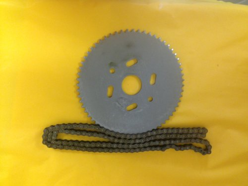 #9484 Go Cart Sprocket 60 tooth sprocket for #35 chain with 3ft of #35 chain