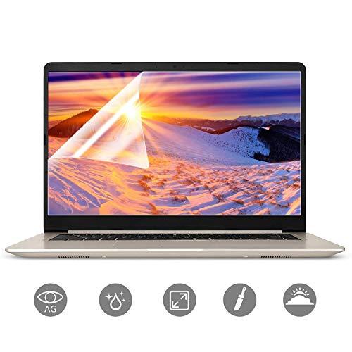 15.6 in Laptop Screen Protector 2PC, Anti-Glare/Anti Scratch Matte Laptop Screen Protector Guard for Display 16:9 15 inch Notebook Film