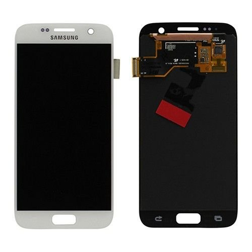 Samsung GH97-18523D - Front LCD Asm White SM-G930...