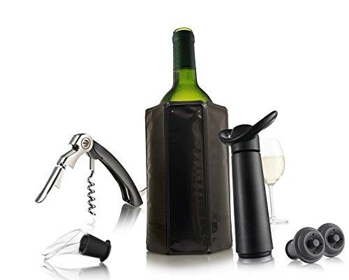 Polydisvins Coffret Wine Essentials Black édition Vacuvin