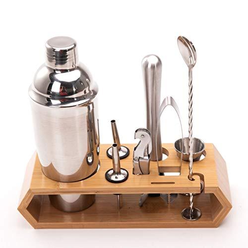 PN-Braes Juego de 10 cocteleras para hacer cócteles, mezclador, barra coladora, kit para herramientas de barra