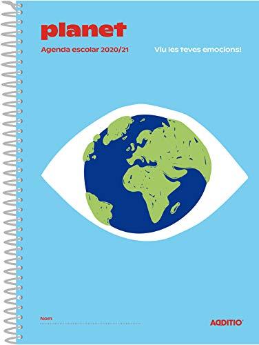 Agenda Planet 2020-2021 para Educación Primaria (catalán) - ADDITIO A121