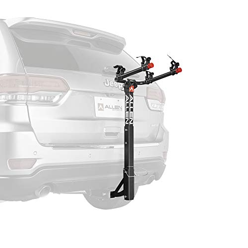 Allen Sports USA Deluxe 2 Hitch Mounted Bike Carrier - Noir, 2-inch