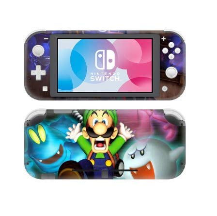 Shoptonskin Luigis Mansion 3 Sticker Stickers Lite Nintendo Switch Lite Skin Vinilo adhesivo para Nintendo Switch Bed: Amazon.es: Videojuegos