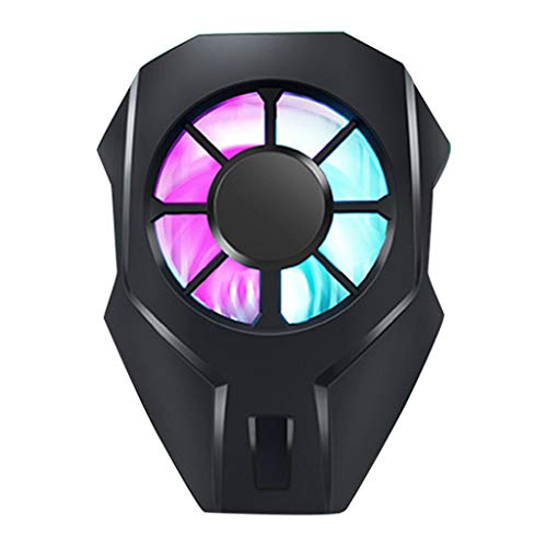 JUNESUN L01 MEMO Mobile Phone Radiator Phone Cooling Fan Case Cold Wind Handle Fan DL01 for PUGB Phone Cooler Phone Cooling Fan