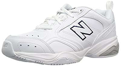 New Balance Women's 624 V2 Casual Comfort Cross Trainer, White, 9 W US
