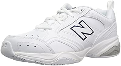 New Balance Women's 624 V2 Casual Comfort Cross Trainer, White, 7.5 M US