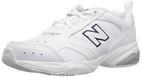 New Balance Women's 624 V2 Casual Comfort Cross Trainer, White, 8 M US