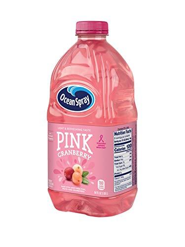 Ocean Spray Pink Cranberry Juice Drink, 64 Ounce Bottle