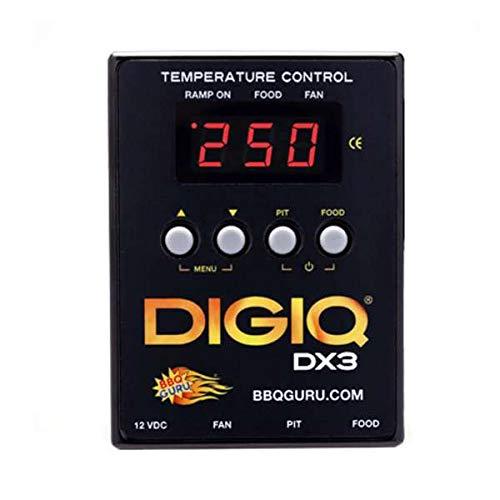 Monolith Temperatursteuerung BBQ Guru DigiQ DX3 Guru Edition Classic & LeChef