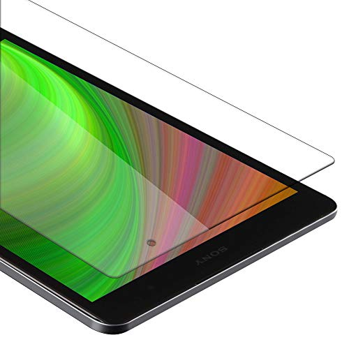 Cadorabo Tempered Glass works with Sony Xperia Tablet Z3 Compact (8' Zoll) in HIGH TRANSPARENCY - Screen Protection 3D Touch Compatible with 9H Hardness - Bulletproof Display Saver