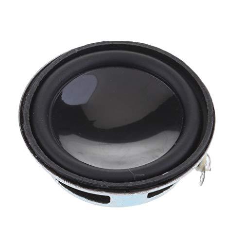 B Blesiya Altavoz de Audio Universal de Rango Completo de 36 Mm Y 3 W Altavoz de 4 Ohmios 13 Bobinas