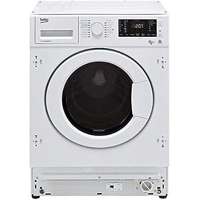 Beko WDIY854310F 1400rpm Spin Speed 8kg Wash 5kg Dry Integrated Washer Dryer - White
