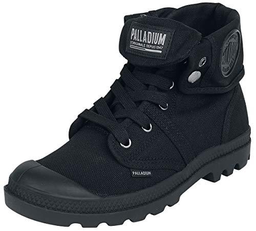 Palladium Herren Pallabrouse Baggy. Hohe Sneaker, Schwarz (Black/Black 466), 47 EU