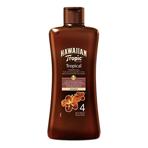 Hawaiian Tropic Tropical Tanning Oil Coconut 200ml (lot de 2)