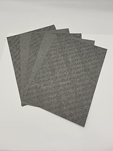5 Bogen Dichtungspapier Elring Abil N ca. DIN A4 - je 1x 0,25/0,5/0,75/1,0/1,5 mm