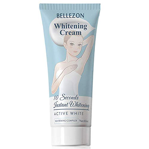 Whitening Cream Skin Lightening Cream, Instantly Fair White Glowing Skin with Advanced Brightening Ingredients, Effective Safe to use, Nourishes Moisturizes for All Skin Private Areas